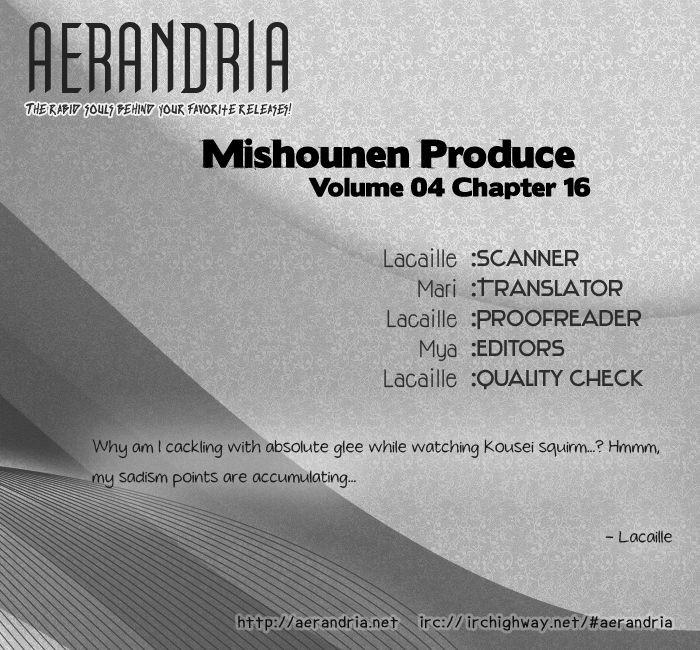 Mishounen Produce 16 Page 2