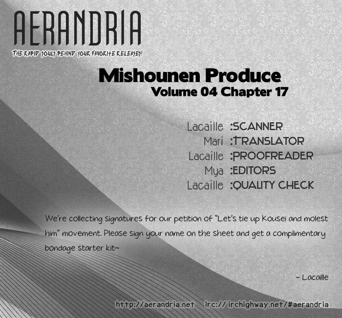 Mishounen Produce 17 Page 2
