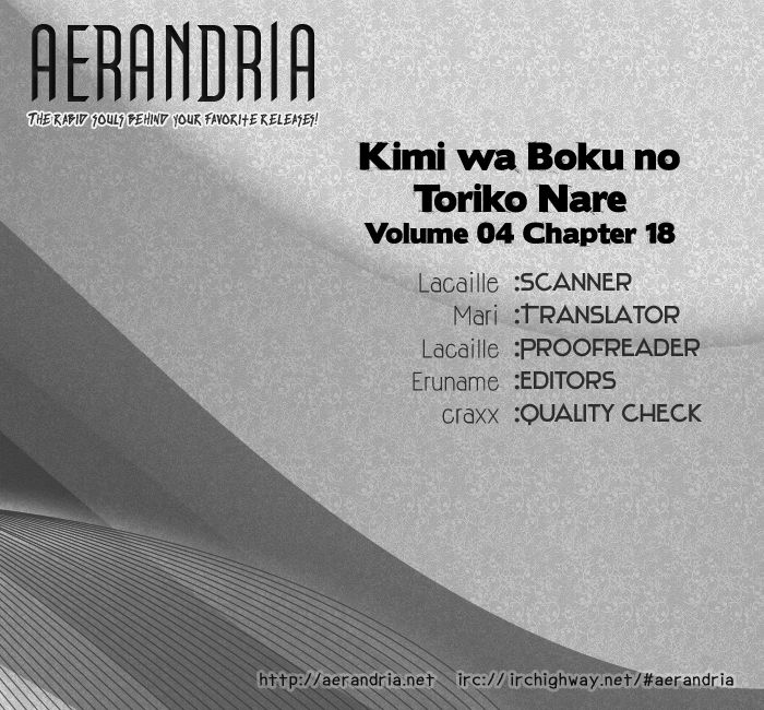 Kimi wa Boku no Toriko Nare 18 Page 2