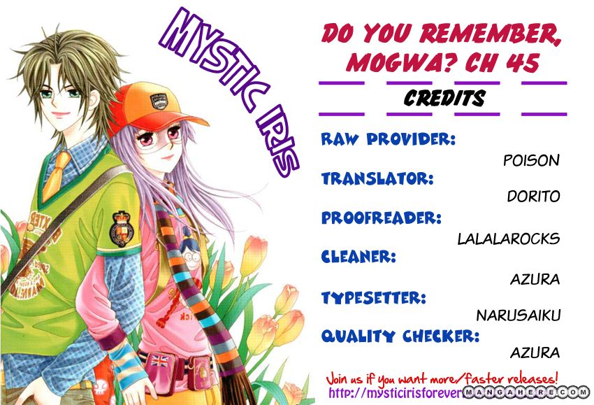Do You Remember, Mogwa? 45 Page 1
