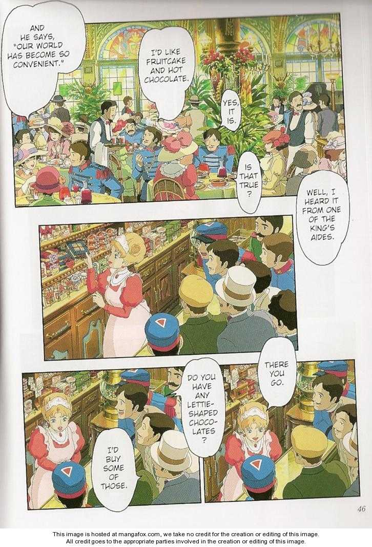 Howl's Moving Castle 1.3 Page 1
