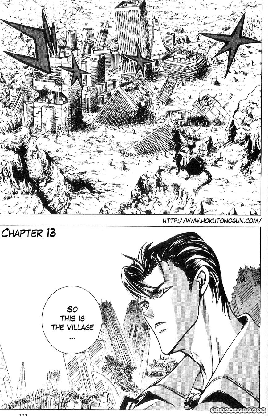 Houkou no Kumo - Hokuto no Ken - Juuza Gaiden 13 Page 2