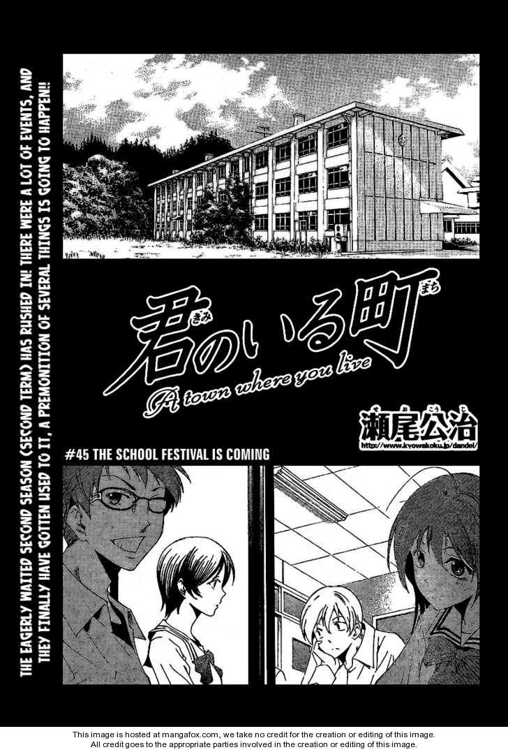 Kimi no Iru Machi 45 Page 1