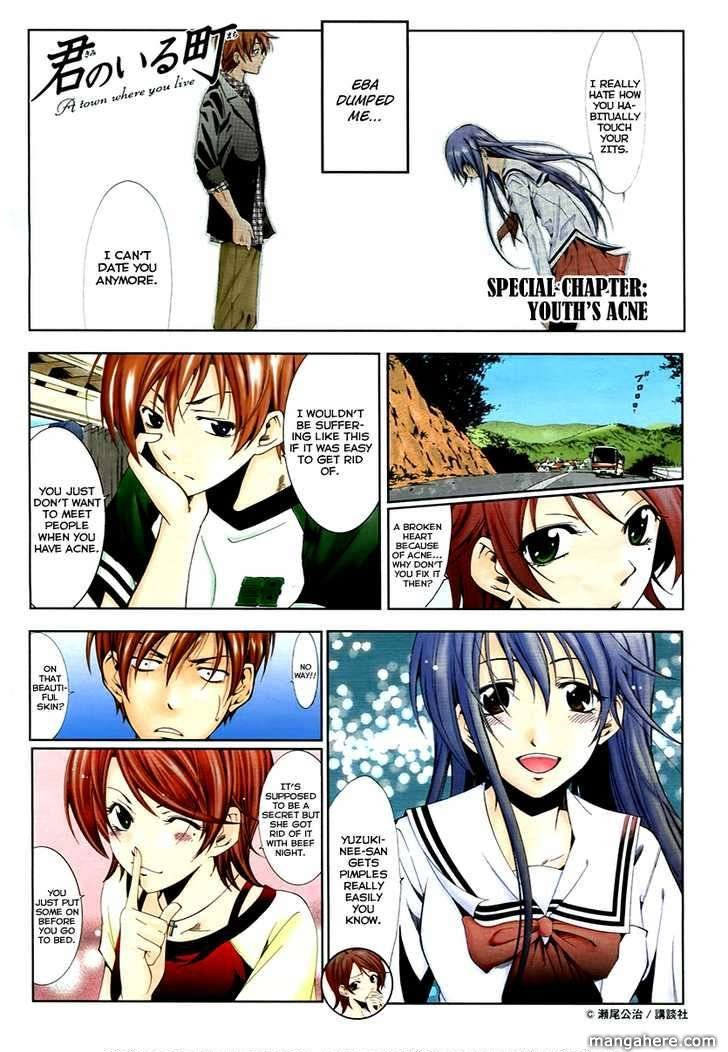 Kimi no Iru Machi 144.5 Page 1