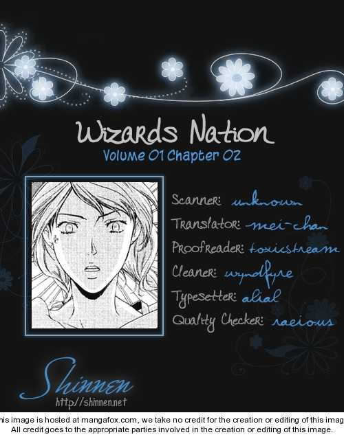 Wizards Nation 2 Page 1