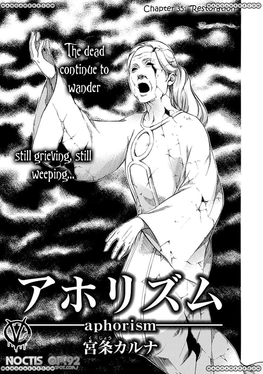 Aphorism 35 Page 2