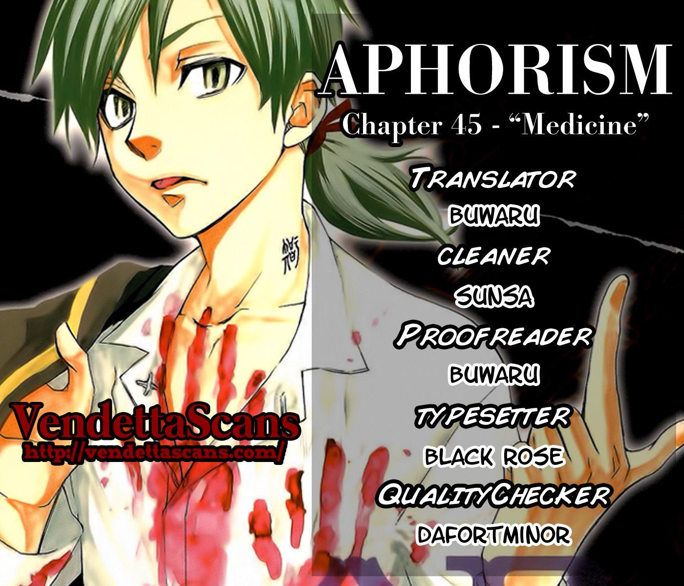 Aphorism 45 Page 1