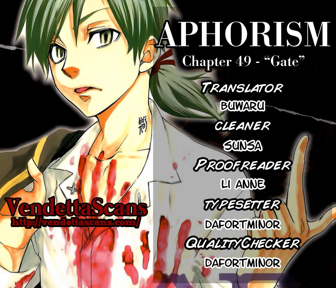 Aphorism 49 Page 1
