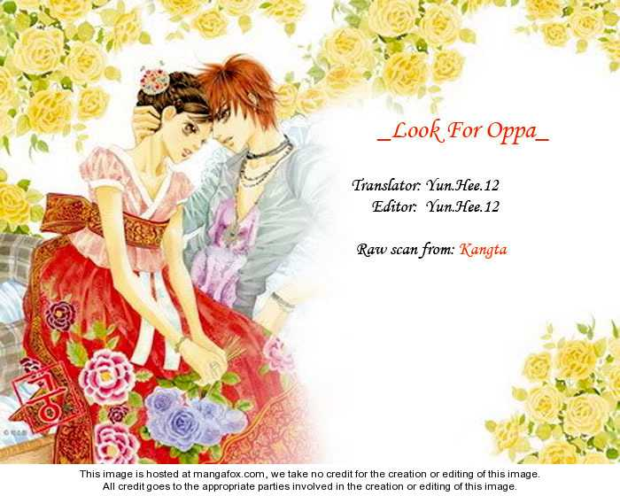 Look for Oppa! 13 Page 1