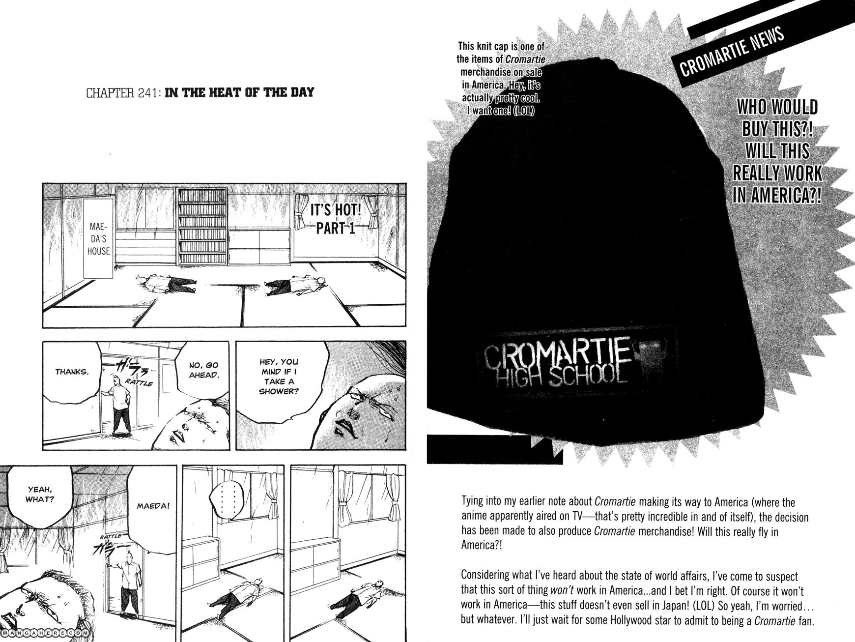 Cromartie High School 241 Page 1