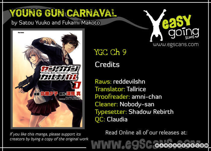Young Gun Carnaval 9 Page 1