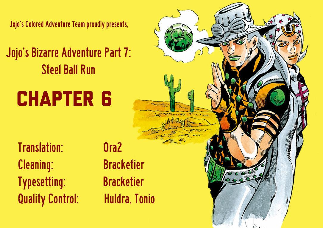 Steel Ball Run 6 Page 1