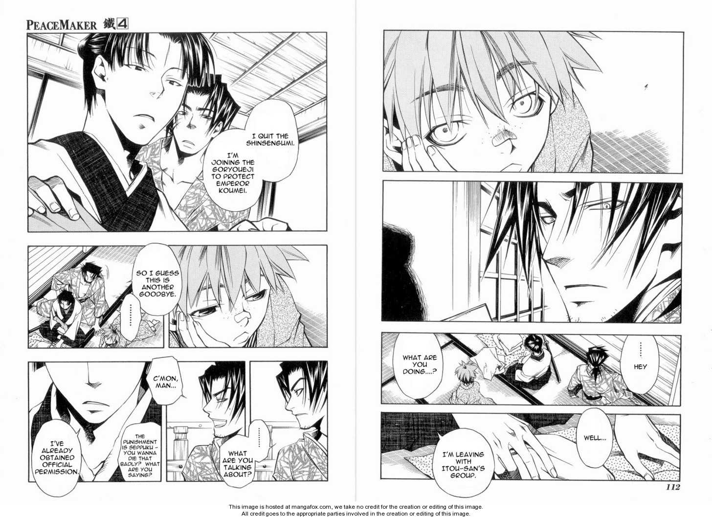 Peace Maker Kurogane 5 Page 2