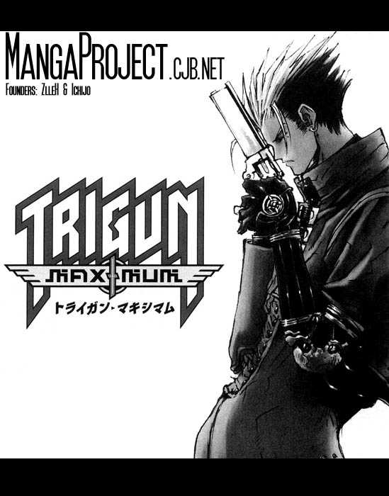 Trigun MAXIMUM 3 Page 1