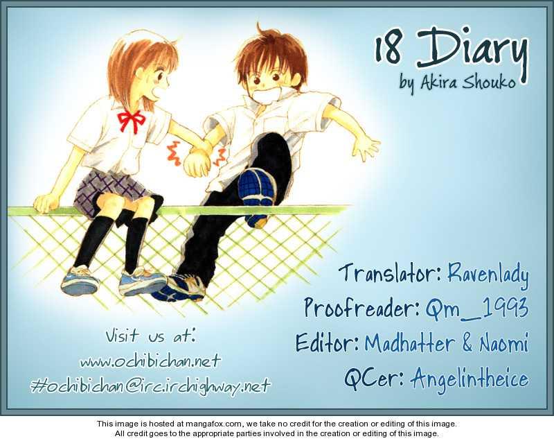 18 Diary 1 Page 1