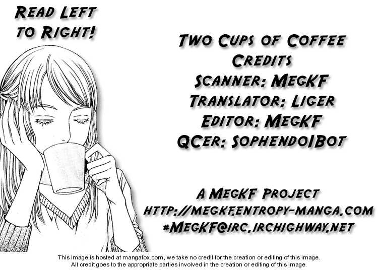 Two Cups of Coffee 1 Page 1