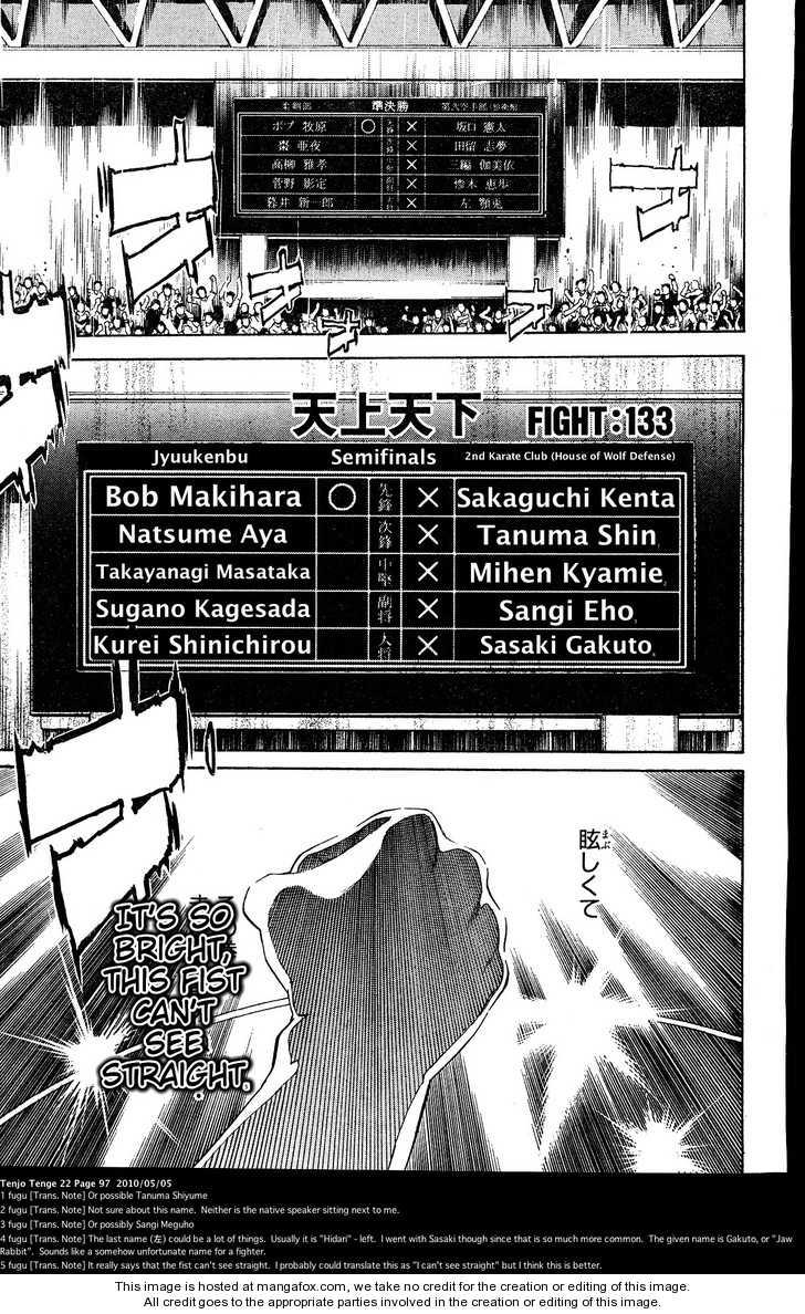 Tenjo Tenge 133 Page 1
