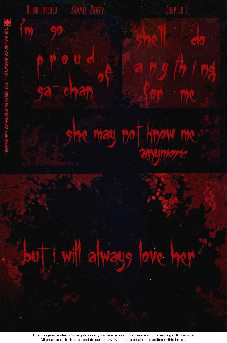 Corpse Party Blood Covered 1 Page 1