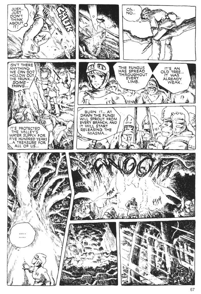 Nausicaä of the Valley of the Wind 0.2 Page 1