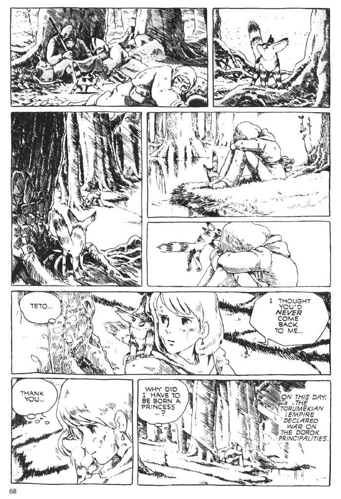 Nausicaä of the Valley of the Wind 0.2 Page 2