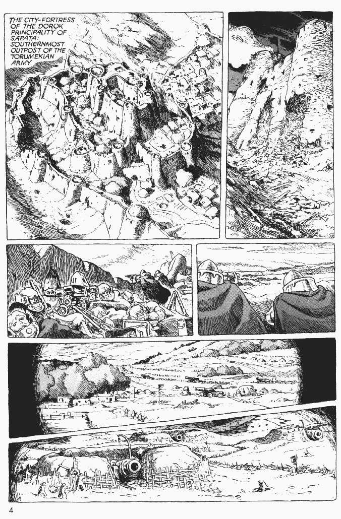 Nausicaä of the Valley of the Wind 1 Page 3