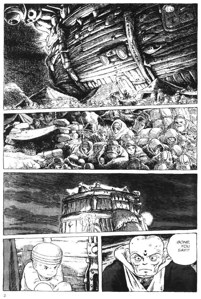 Nausicaä of the Valley of the Wind 1 Page 2