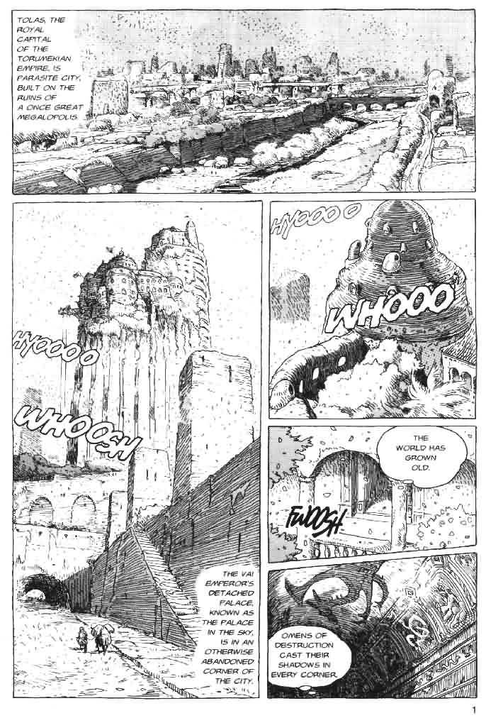 Nausicaä of the Valley of the Wind 4 Page 2