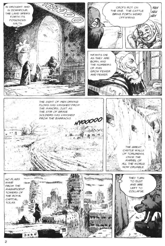 Nausicaä of the Valley of the Wind 4 Page 3