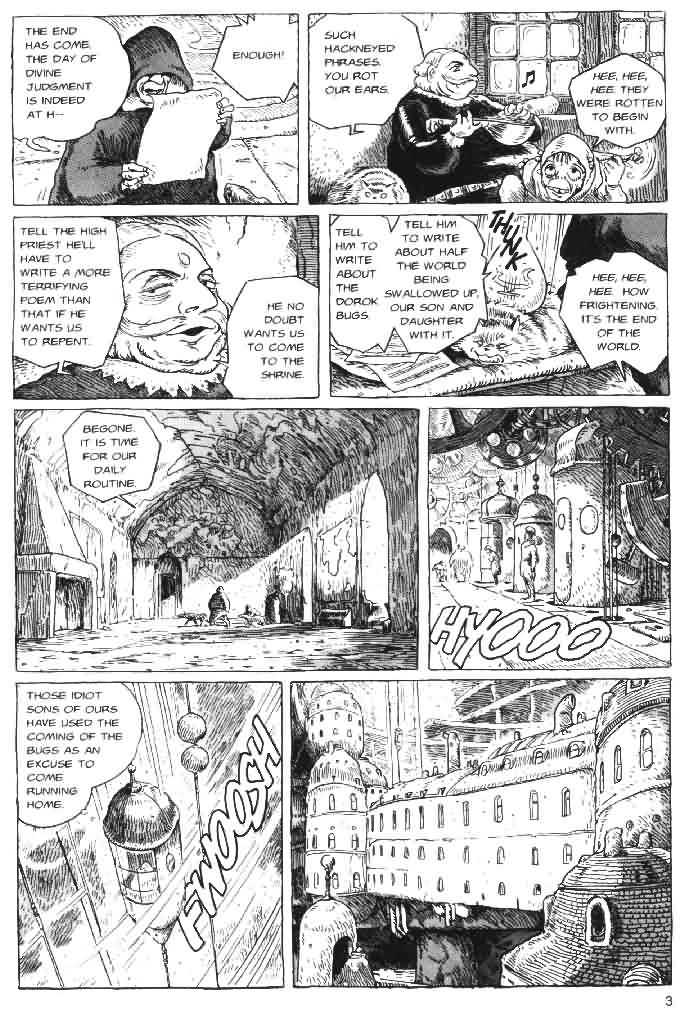Nausicaä of the Valley of the Wind 4 Page 4