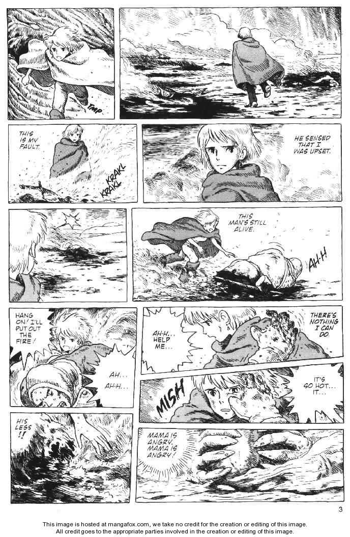 Nausicaä of the Valley of the Wind 2 Page 3