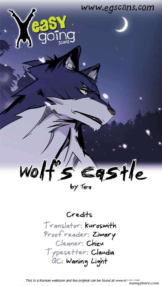 Wolf's Castle 20 Page 1