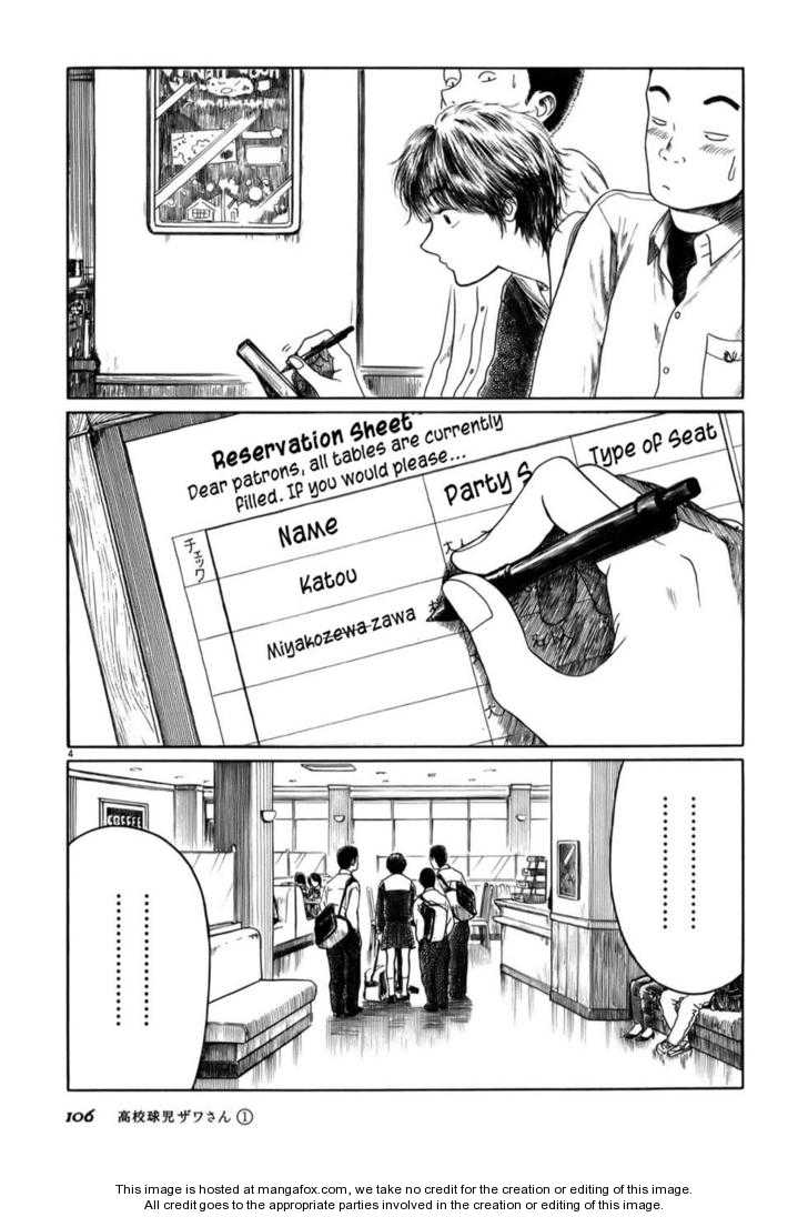Koukou Kyuuji Zawa-san 11 Page 4