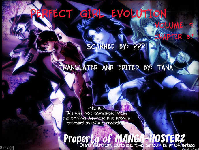 Perfect Girl Evolution 37 Page 1