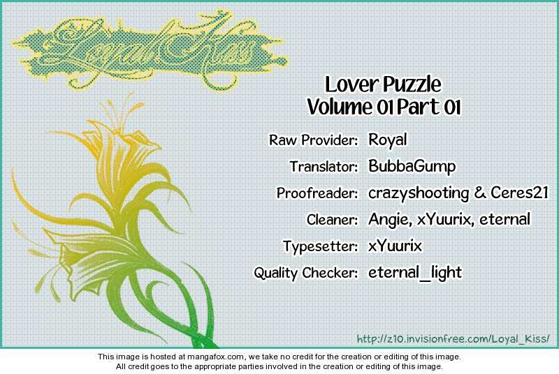 Lover Puzzle 1 Page 1