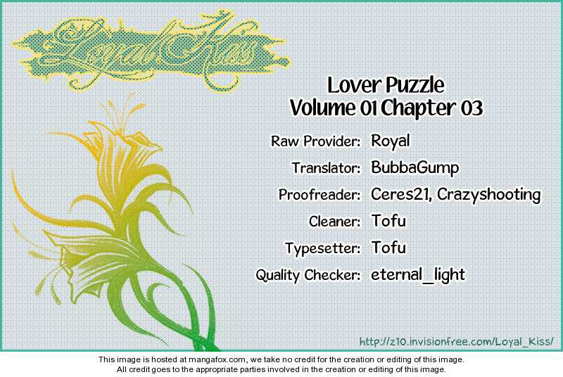 Lover Puzzle 3 Page 2