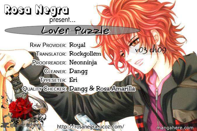 Lover Puzzle 9 Page 1