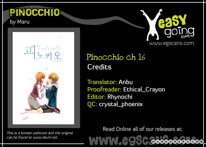 Pinocchio 16 Page 1