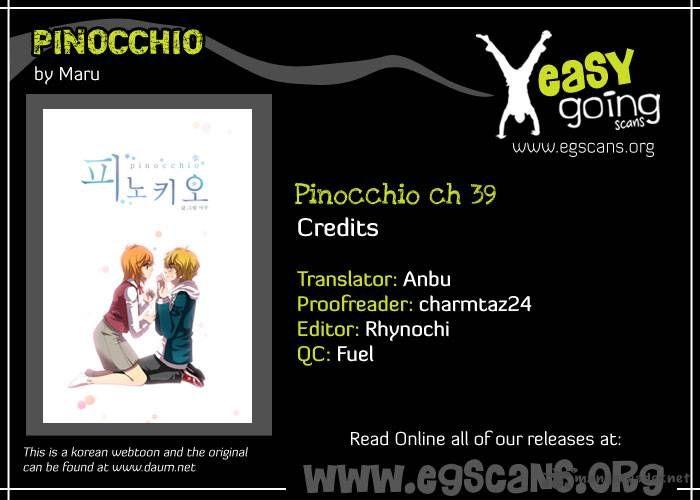 Pinocchio 39 Page 1
