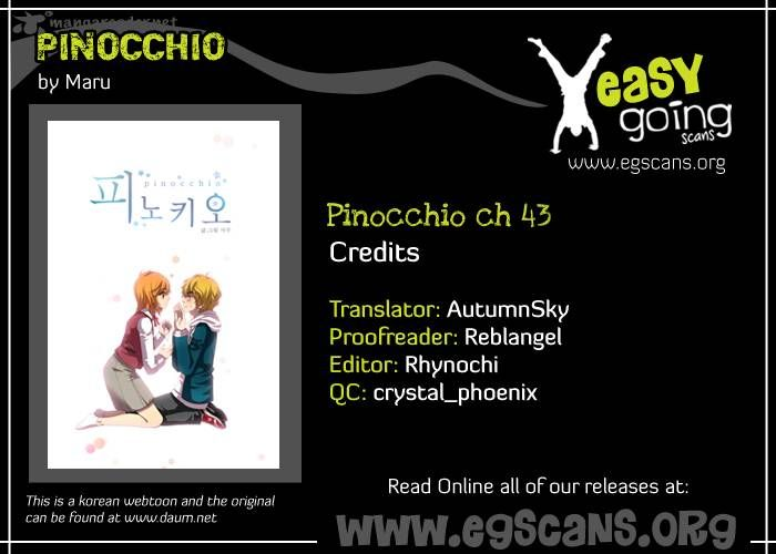 Pinocchio 43 Page 1