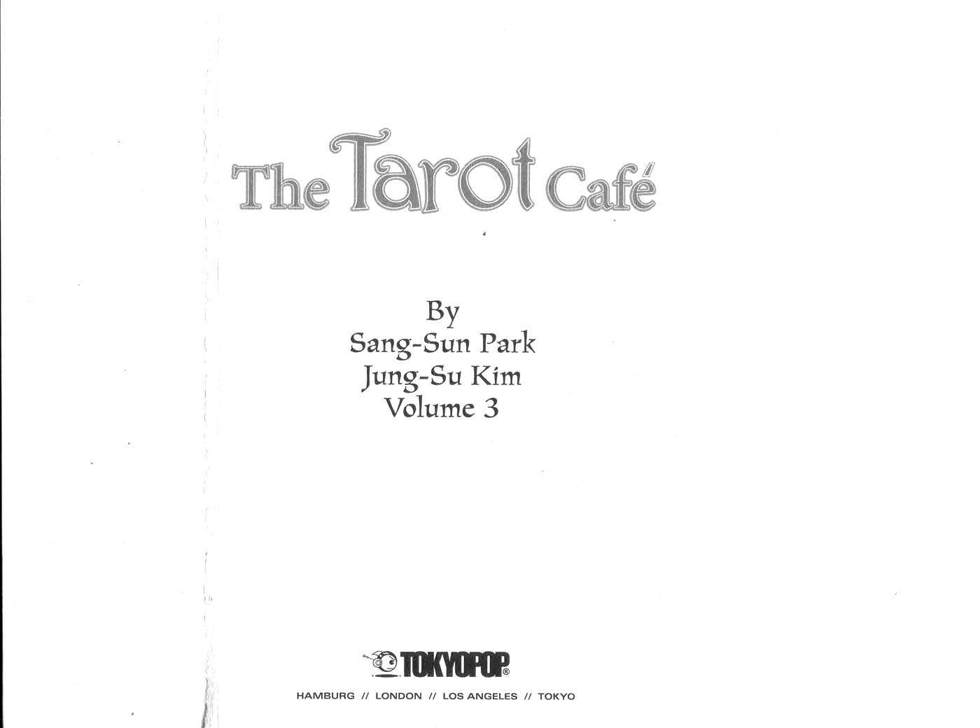The Tarot Cafe 0 Page 1