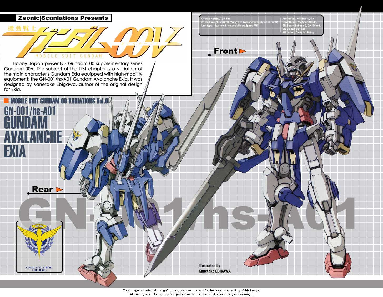 Mobile Suit Gundam 00V 1 Page 2