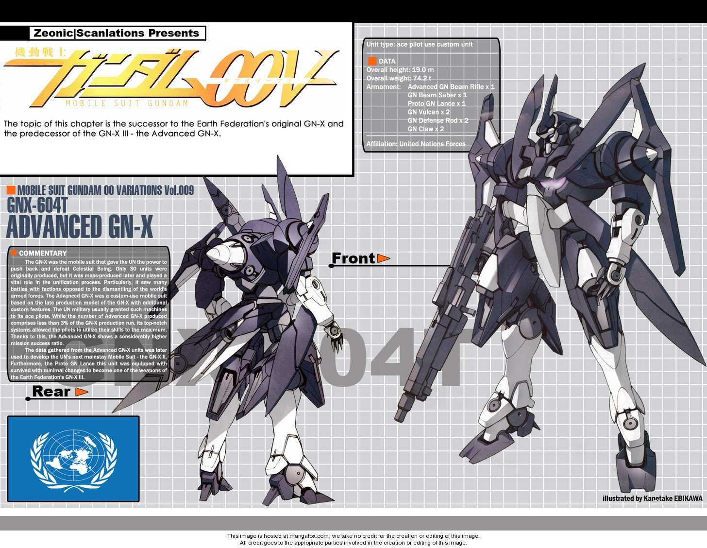 Mobile Suit Gundam 00V 6 Page 1