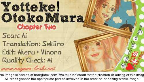 Yotteke! Otoko Mura 2 Page 1