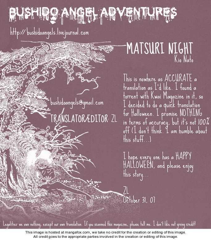 Matsuri Night 1 Page 1