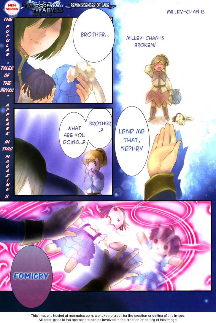 Tales of the Abyss: Tsuioku no Jade 1 Page 1