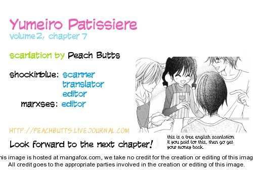 Yumeiro Patissiere 7 Page 1