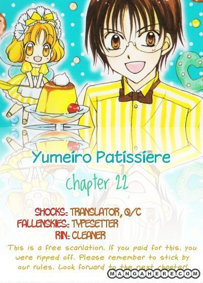 Yumeiro Patissiere 22 Page 1