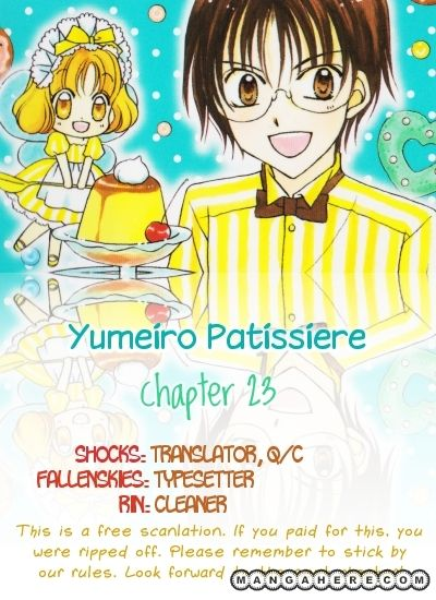 Yumeiro Patissiere 23 Page 1