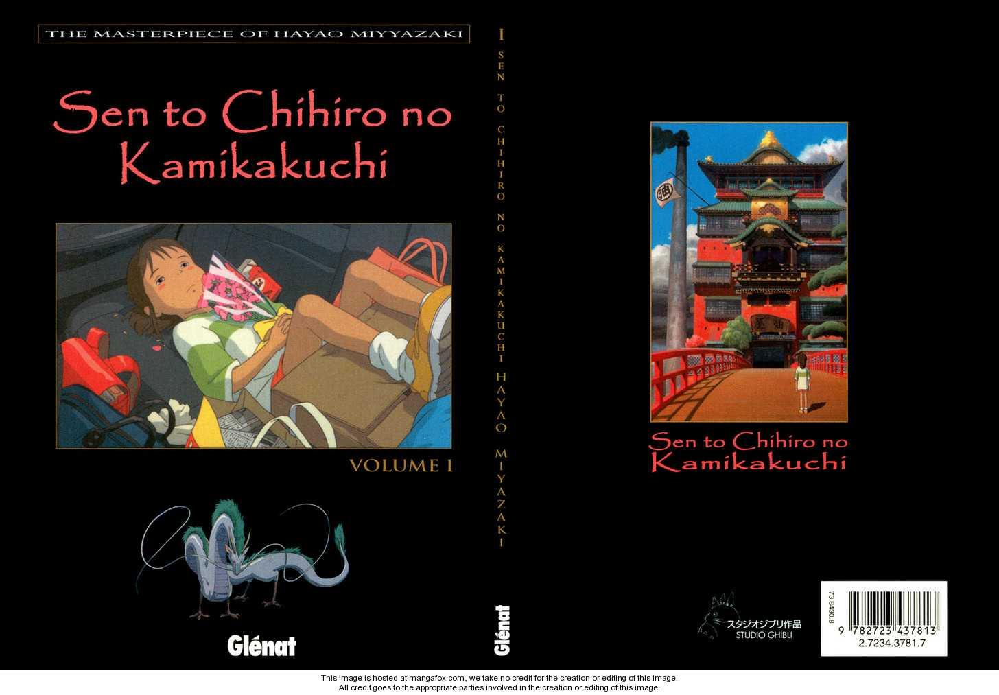Sen to Chihiro no Kamikakuchi 1 Page 2