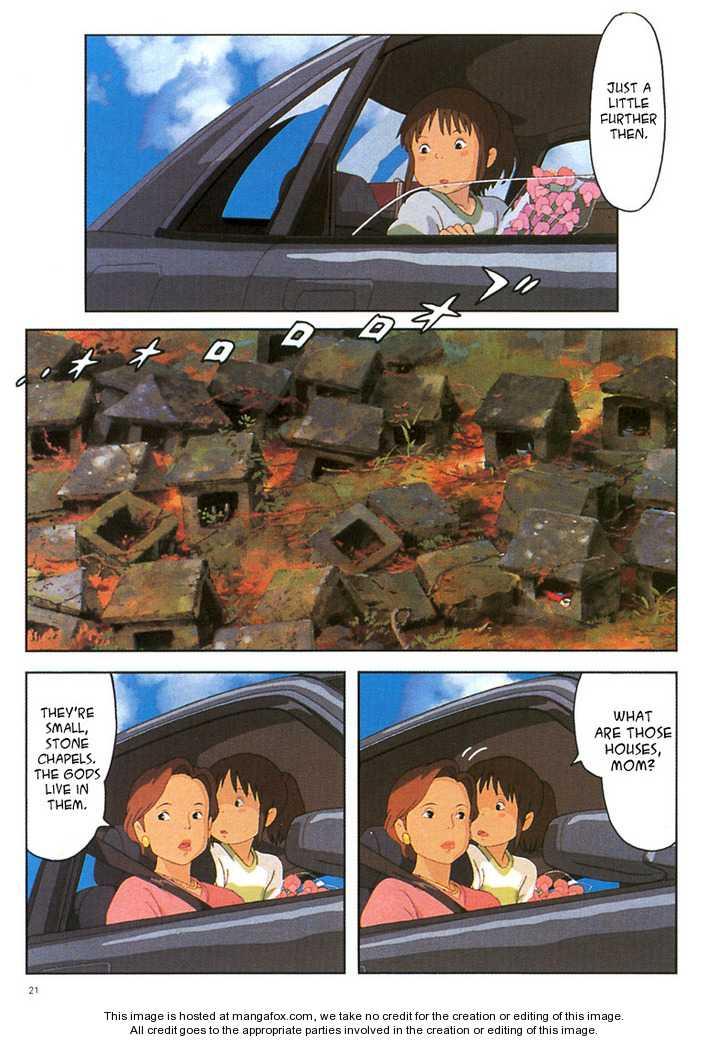 Sen to Chihiro no Kamikakuchi 2 Page 1